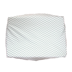 Black white changing pad cover with clouds