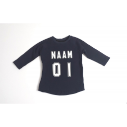 Jersey t-shirt navy blue
