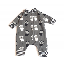Sheep onsie gray