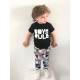 Girls/Boys rule t-shirt black