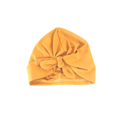 Deep yellow turban
