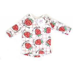 Strawberries tshirt / long sleeves