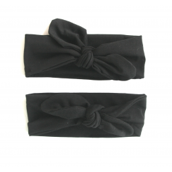 Black basics headband