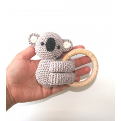 Teething ring koala